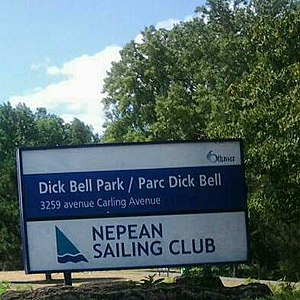 Nepean Sailing Club - Nepean Sailing Club Dick Bell Park Sign