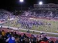 Nevada Celebrating WAC Championship, University of Nevada Wolf Pack 38, Fresno State University Bulldogs 35, Mackay Stadium, Reno, Nevada (69511937).jpg