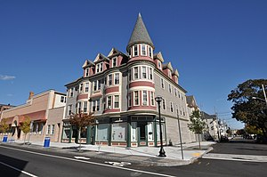 Hotel Waverly (New Bedford, Massachusetts) - Image: New Bedford MA Hotel Waverly