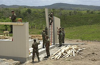 Civic action program - Image: New Horizons 2002 in Nicaragua 003