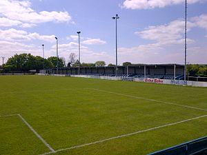 Billericay Town F.C. - Covered seating, May 2014