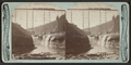 New Portage Bridge and Falls on the Line of the Erie Railway, by Bierstadt, Charles, 1819-1903.png