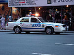 NYPD Crown Victoria police car