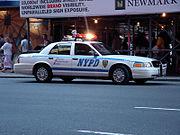 NYPD Crown Victoria police car