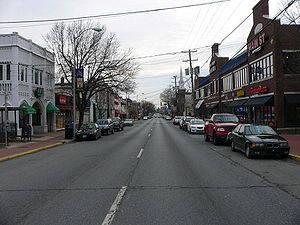 Newark, Delaware - Main Street is the commercial heart of Newark. It is adjacent to the University of Delaware.
