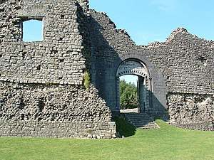 Newcastle Castle, Bridgend - Newcastle Castle, Bridgend