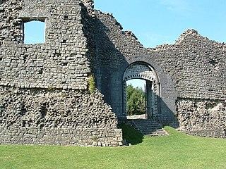 Newcastle Castle, Bridgend Grade II* listed building in Bridgend County Borough