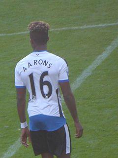 Rolando Aarons English football player