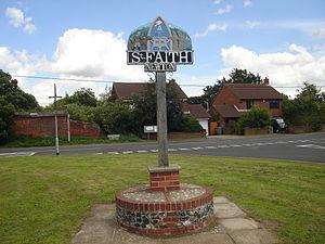Horsham St Faith and Newton St Faith - The Newton St Faith village sign