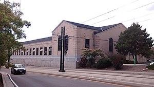 Nielsen Fieldhouse - Image: Nielsen Fieldhouse