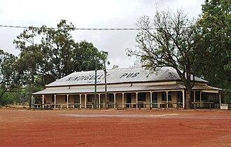 Nindigully - The Nindigully Pub, built in 1864