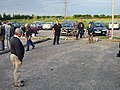 No, it's not France, a petanque match in progress - geograph.org.uk - 479074.jpg