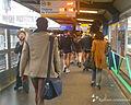 No Pants Subway Ride in Paris, 2014.jpg