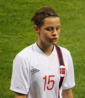 Nora Holstad Berge association football player