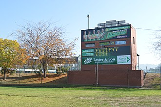 North Albury, New South Wales - Bunton Park, the home of North Albury Football Club
