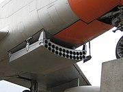 North American F-86D Sabre Dog rocket tray
