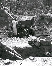 North Korean 76mm gun Inchon 1950