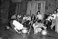 North Texas Agricultural College party with students bobbing for apples (10008564).jpg