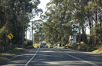 Henry Lawson Drive - Henry Lawson Drive at Georges Hall