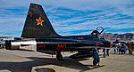 "Northrop F-5N Tiger II US Navy 761578 VFC-13 Aggressor Squadron NAS Fallon, NV ""Fighting Saints"" (31148853476).jpg"
