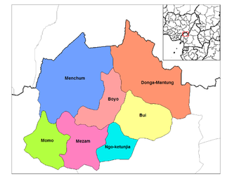 Northwest Region (Cameroon) - Divisions of Northwest Cameroon
