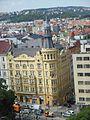 Nové Město, Karlovo náměstí 18 a Odborů 14, z radnice.jpg