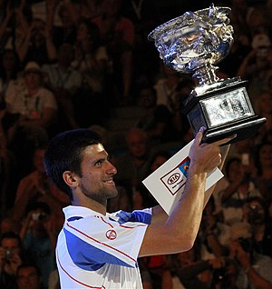 2016 ATP World Tour - Image: Novak Djokovic at the 2011 Australian Open 4
