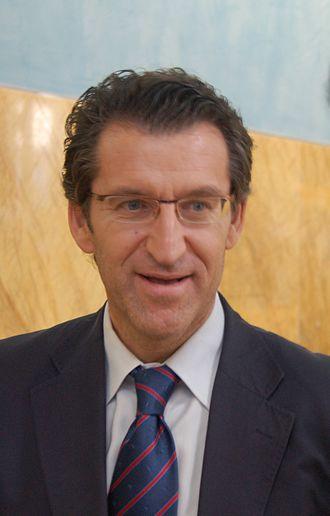 President of the Xunta of Galicia - Image: Nuñezfeijoo