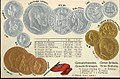Numismatic post-card with contemporary coins - Great-Britain & Ireland.jpg