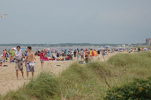 Old Orchard Beach, Maine - The beach at Old Orchard Beach
