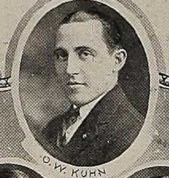 Oliver Kuhn - Kuhn around 1922