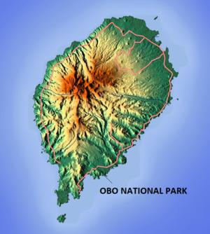 Obo Natural Park - Image: Obo National Park