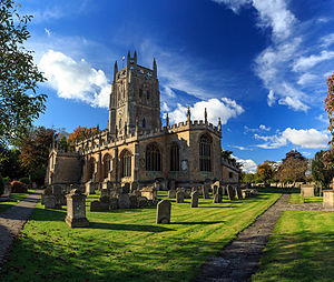 Gloucestershire - Parish Church of St. Mary, Fairford