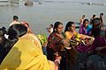 Offering to Sun God - Chhath Puja Ceremony - Baja Kadamtala Ghat - Kolkata 2013-11-09 4264.JPG