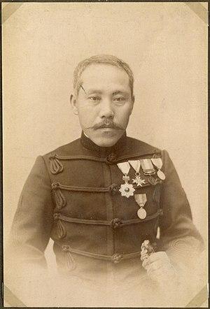 Arisaka Nariakira - Image: Officer in a uniform, Japan (10797739915)