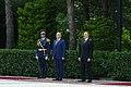 Official welcoming ceremony held for Moldovan president Igor Dodon 3.jpg