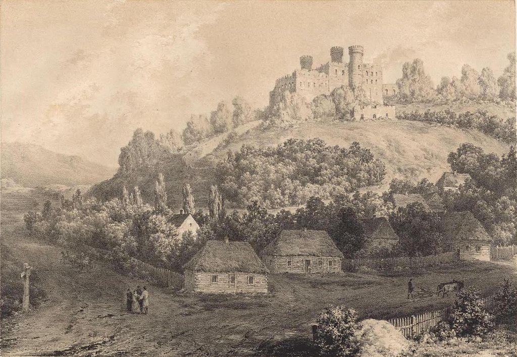 Zamek Ogrodzieniec - historia