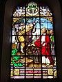 Ohain (Nord, Fr) église, vitrail A, (1888).JPG