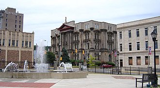 Steubenville, Ohio - Jefferson County Courthouse, 2007