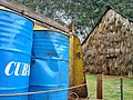 Oil Drums and Tobacco Curing Hut - Near Viñales - Cuba (5289819384).jpg
