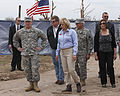 Oklahoma Gov. Mary Fallin, center, leads U.S. Army Gen. Frank J. Grass, left foreground, the chief of the National Guard Bureau, and Maj. Gen. Myles Deering, third from right, the adjutant general of Oklahoma 130528-Z-VF620-4006.jpg