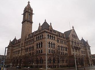 Old Post Office (Buffalo, New York) - Image: Old Post Office Buffalo