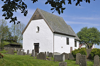 Churches in Norway - Old Moster Church, possibly the oldest in Norway, site of the Moster Thing where Christianity was made law of the land (around 1024).