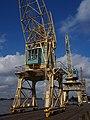 Old port cranes at Port of Antwerp, pic-044.JPG