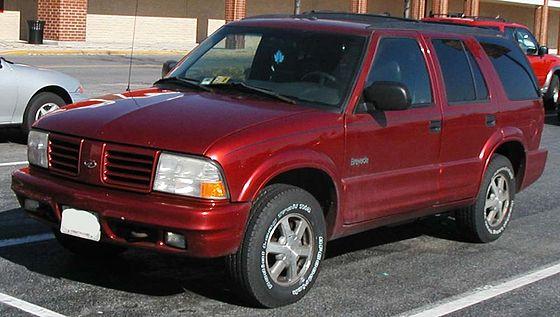 Oldsmobile Bravada Oldsmobile Bravada Del 1998