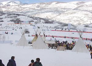 Soldier Hollow - Part of the venue's Western Experience during the Olympics