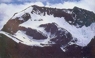 Dharchula - The Om Parvat and Adi Kailash.