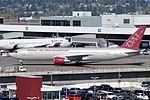 Omni Air International, Boeing 767-33A(ER), N351AX - SEA (18574938818).jpg