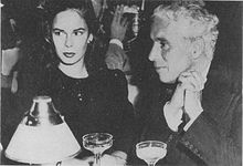 Oona and Charlie Chaplin 1944.JPG