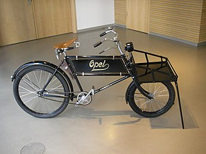 Opel - Opel safety bicycle